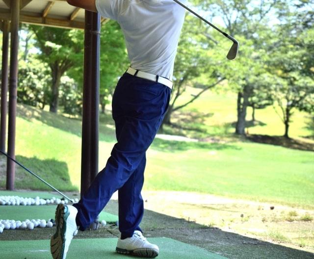 ゴルフダウンブロー