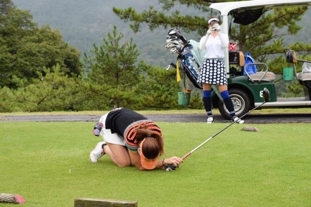 ゴルフ下手すぎる人