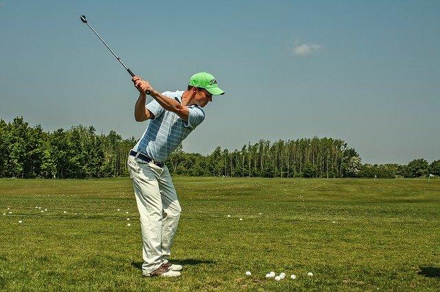 ゴルフアウトサイドイン