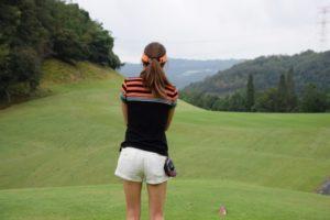ゴルフ素振り
